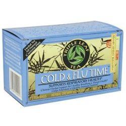 Triple Leaf Tea Cold Flu Time Tea 20 Tea Bags
