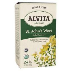 Alvita Organic St John's Wort Tea 24 Tea Bags