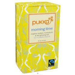 Pukka Herbs Organic Herbal Tea Morning Time 20 Tea Bags