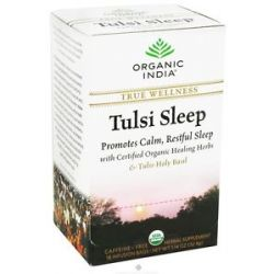 Organic India True Wellness Tusli Sleep Tea 18 Tea Bags