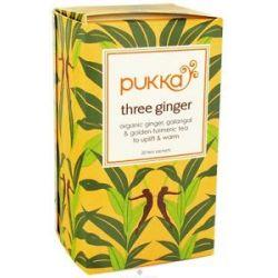Pukka Herbs Organic Herbal Tea Three Ginger 20 Tea Bags