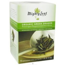 Mighty Leaf Green Tea Organic Green Dragon 15 Tea Bags