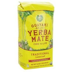 Guayaki Traditional Loose Yerba Mate 100 Organic 16 Oz
