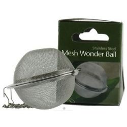 Harold Import Stainless Steel Mesh Wonder Tea Ball 2 Inch