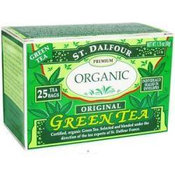 St Dalfour Green Tea Premium Organic Original 25 Tea Bags