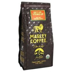 Marley Coffee Get Up Stand Up Organic Ground Coffee 8 Oz