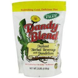 Dandy Blend Instant Herbal Beverage with Dandelion 2 Lbs