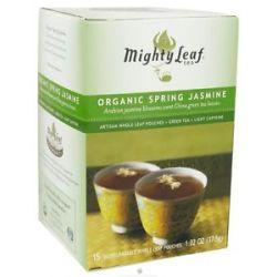 Mighty Leaf Green Tea Organic Spring Jasmine 15 Tea Bags