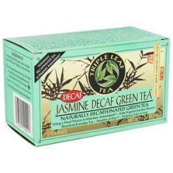 Triple Leaf Tea Decaf Jasmine Green Tea 20 Tea Bags