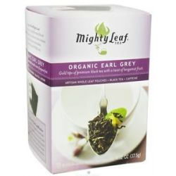 Mighty Leaf Black Tea Organic Earl Grey 15 Tea Bags