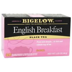 Bigelow Tea Black Tea English Breakfast 20 Tea Bags