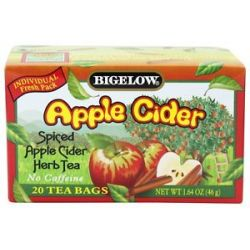 Bigelow Tea Herb Tea Spiced Apple Cider 20 Tea Bags