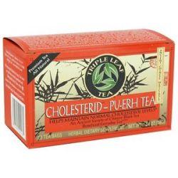 Triple Leaf Tea Cholesterid Tea PU erh 20 Tea Bags