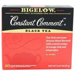Bigelow Tea Black Tea Constant Comment 40 Tea Bags