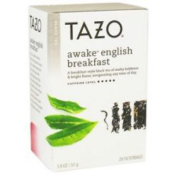 Tazo Black Tea Awake English Breakfast 20 Tea Bags