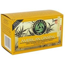 Triple Leaf Tea American Ginseng Root Tea 20 Tea Bags