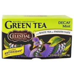 Celestial Seasonings Decaf Mint Green Tea 20 Tea Bags