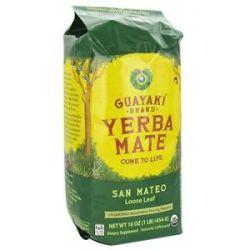 Guayaki San Mateo Loose Yerba Mate 100 Organic 16 Oz