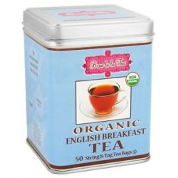 Brew La La Organic English Breakfast Tea 50 Tea Bags