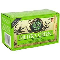 Triple Leaf Tea Dieter's Green Herbal Tea 20 Tea Bags
