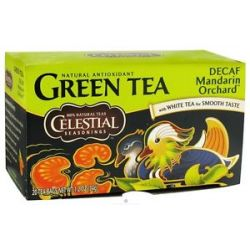 Celestial Seasonings Decaf Mandarin Orchard Green Tea 20 Tea Bags