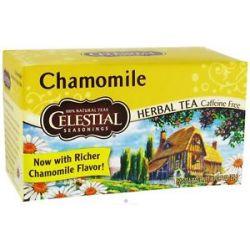 Celestial Seasonings Chamomile Herb Tea Caffeine Free 20 Tea Bags
