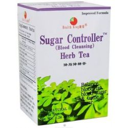 Health King Sugar Controller Blood Cleansing Herb Tea 20 Tea Bags