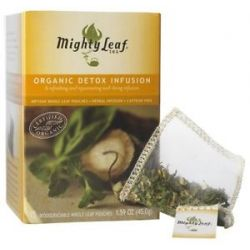 Mighty Leaf Herbal Infusion Organic Detox Infusion 15 Tea Bags
