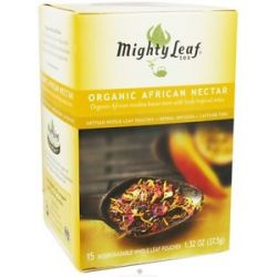 Mighty Leaf Herbal Infusion Organic African Nectar 15 Tea Bags