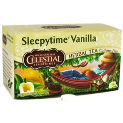 Celestial Seasonings Herbal Tea Sleepytime Vanilla 20 Tea Bags