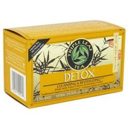 Triple Leaf Tea Detox Tea Cleansing Revitalizing 20 Tea Bags