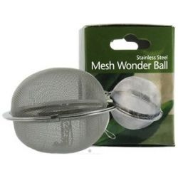 Harold Import Stainless Steel Mesh Wonder Tea Ball 2 1 2 Inch