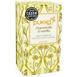 Pukka Herbs Organic Herbal Tea Golden Chamomile 20 Tea Bags