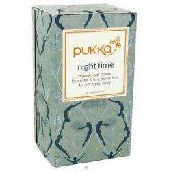 Pukka Herbs Organic Oat Flower Lavender Limeflower Tea Night Time 20 Tea