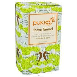 Pukka Herbs Organic Sweet Fennel Wild Fennel Fennel Leaf Tea Three Fennel