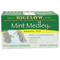 Bigelow Tea Herb Tea All Natural Caffeine Free Mint Medley 20 Tea Bags