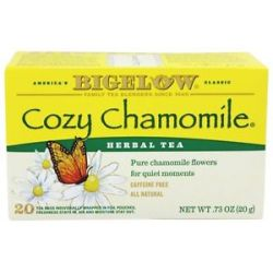 Bigelow Tea Herb Tea All Natural Caffeine Free Cozy Chamomile 20 Tea Bags