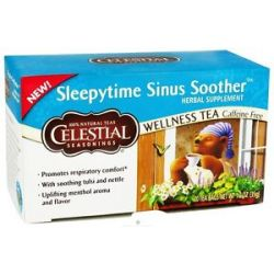 Celestial Seasonings Sleepytime Sinus Soother Wellness Tea 20 Tea Bags