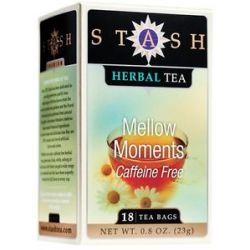 Stash Tea Premium Caffeine Free Herbal Tea Mellow Moments 18 Tea Bags