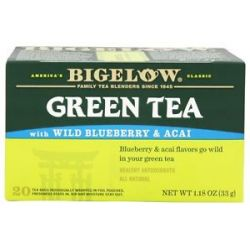 Bigelow Tea Green Tea Wild Blueberry and Acai 20 Tea Bags Formerly
