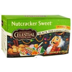 Celestial Seasonings Nutcracker Sweet Holiday Herb Tea 20 Tea Bags