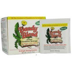 Dandy Blend Instant Dandelion Beverage Single Servings 25 Packet S