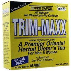 Body Breakthrough Trim Maxx Herbal Dieter's Tea for Men and Women Lemon Twist