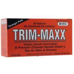Body Breakthrough Trim Maxx Herbal Dieter's Tea for Men and Women Orange Peel