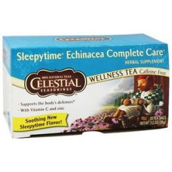 Celestial Seasonings Sleepytime Echinacea Complete Care Tea Caffeine Free 20