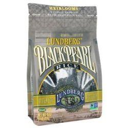 Lundberg Organic Rice Black Pearl 1 Lb