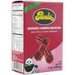 Panda Licorice Soft Chews Raspberry 7 Oz