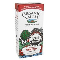 Organic Valley Organic Whole Milk 33 8 Oz