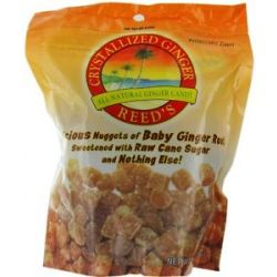 Reed's Crystallized Chews Ginger 16 Oz