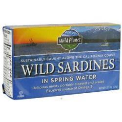 Wild Planet Wild Sardines in Spring Water 4 38 Oz